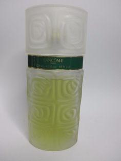 O de LANCOME PARIS 4.2 oz Eau de Toilette SPRAY PERFUME Vintage Frosted Bottle #Lancome
