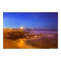 Noches de paseos por la playa de San Lorenzo, Gijón