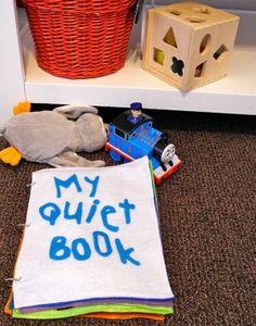 quiet book felt toddler activities by sophie