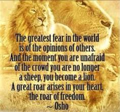 lion hearted ...