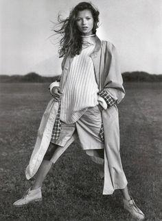 Kate Moss for Banana Republic 1994