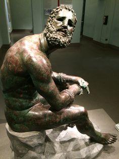 Roman statue palazzo massimo rome