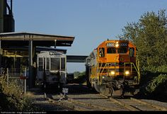 RailPictures.Net Photo: P&W 3300 Portland & Western Railroad EMD SD40-3 at McMinnville, Oregon by Radford Bean