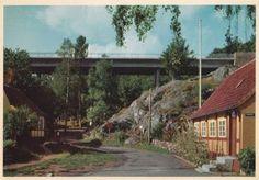 GUDHJEM. Broen over Holkedalen