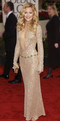 Kate Hudson in Atelier Versace Golden Globes