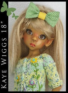 "SPRING Outfit for KAYE WIGGS 18"" MSD by Maggie and Kate Create"