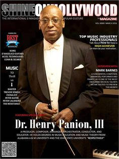 """DEAR READERS SOHM March 2016 """"Top Music Industry Professionals: This month's edition of Shine On Hollywood Magazine (SOHM) offers a creative and inspiring approach for artists that love music… Hollywood Magazine, Popular Artists, That's Love, Music Industry, New Music, Advertising, March, News, Cover"""