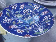 NURETTİN ÇETİN COLLECTİONS-Original hand-painted ceramic plates