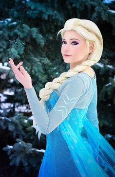 Choco(Choco) Elsa Cosplay Photo - Cure WorldCosplay
