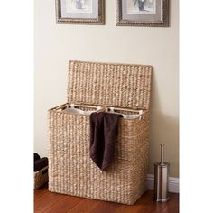 hamper with Liners gifts for bathroom decor .home decor