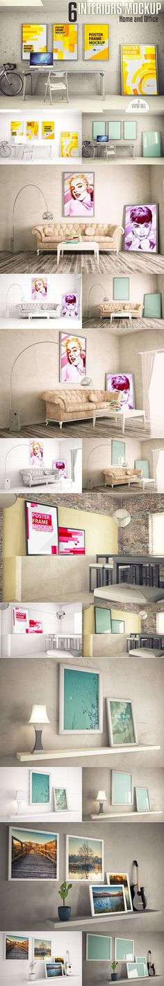 Interiors mock-up Vol. 2 by jordygraph on @creativemarket
