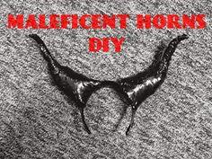 Bright's Wanderings: Maleficent Horns- DIY in 5 Steps!