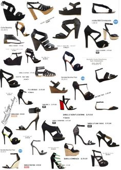 Sandalias negras, primavera-verano 2012- Lokking for black shoes?