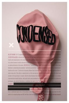 Tom Davie: 2012 Typographic Prints - love typography created with non-traditional objects.