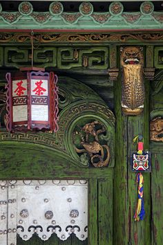 Chinese door in Penang