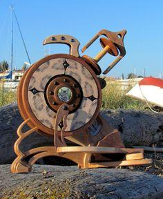 custom spinning wheel
