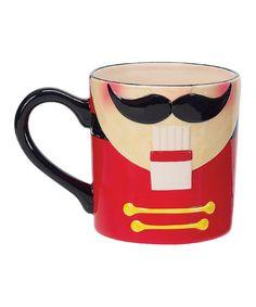 Nutcracker Mug by Boston Warehouse Christmas on #zulily