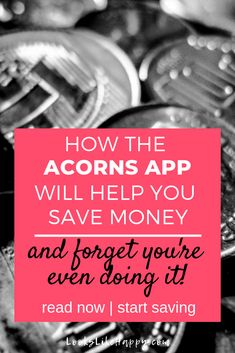 How the Acorns App Will Help You Save Money & Forget You're Even Doing It | Saving money is easier than ever with the Acorns app. Pin now, set it up this weekend & plan an adventure!   #acorns #savings