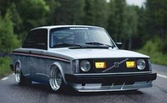 Stanced Volvo