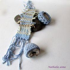 Nathalie M : tissage et crochet http://nath-m.blogspot.fr/