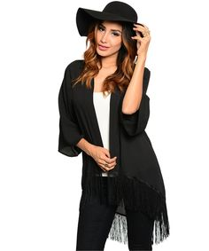 P.S. I Love You More Boutique | The Perfect Fringe Cardigan | www.psiloveyoumoreboutique.com