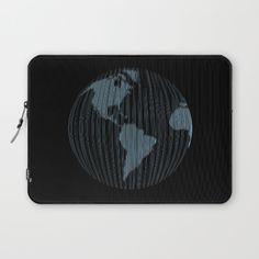 World map Laptop Sleeve by vladimirceresnak Laptop Sleeves, Map, World, Stuff To Buy, Location Map, Maps, The World