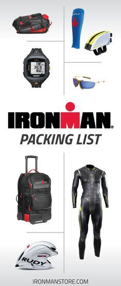 The Definitive IRONMAN Packing List for Race Day