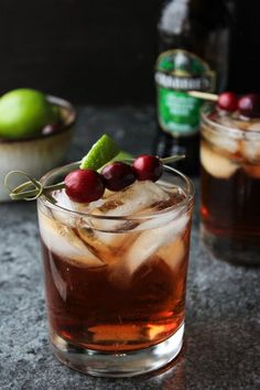 Cranberry Crush Cocktail