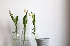 Kerzen raus, Tulpen rein