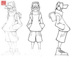 Sculpture Turnaround by firefromheaven Character Model Sheet, Game Character Design, Character Design Animation, Character Modeling, Character Drawing, Character Design Inspiration, Character Concept, Character Turnaround, Cartoon Art Styles