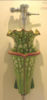 Handmade urinal by artist Clark Sorensen of San Fran.. I'll take this one.
