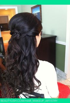 possible hairstyle for wedding