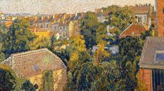 Rooftops Art Print by Lemmen Georges. All prints are professionally printed, packaged, and shipped within 3 - 4 business days. Crow Painting, Muse Art, Post Impressionism, Canvas Pictures, Rooftops, French Art, Van Gogh, Great Artists, Wall Art Prints