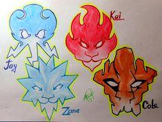 ninja's badges by ProNastya.deviantart.com on @DeviantArt