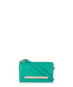 Rougissime aqua leather pouch Sale - Christian Louboutin Sale