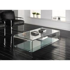 Glazen Tafel Op Maat.16 Beste Afbeeldingen Van Glazen Salontafels Glazen