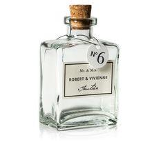 Glass Bottle Place Cards | Devoir Collection | Bliss & Bone