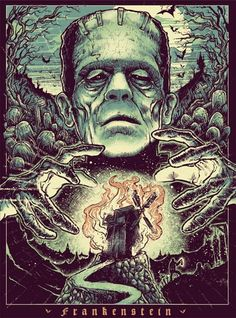 Frankenstein by godmachineuk