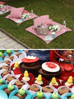 Baby Guide Festa Infantil: Pic Nic no Jardim por Mog & Mug