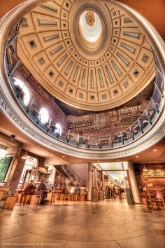 Quincy Market is a historic building near Faneuil Hall in downtown Boston, Massachusetts. It was constructed 1824–1826 and named in honor of Mayor Josiah Quincy Quincy Market by A. Shamandour on 500px