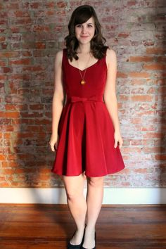 7 Days of Holiday Party Dresses  Love her designs and blog! Check her out sometime!