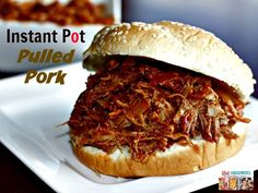 Instant Pot Pulled Pork Recipe
