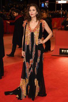 Maggie Gyllenhaal in Schiparelli