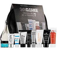 Sephora Favorites - Skin Cleanse Vol. 2 ($45 - $112 value) sephora.com | A limited-edition collection of nine bestselling products for cleansing, detoxifying, and renewing skin. #sephora