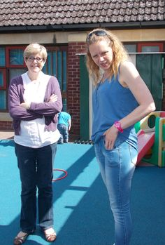 https://flic.kr/p/tLFSPc | Emma & Sarah volunteer at the Children's Centre in Godmanchester | Emma: I started volunteering because if I didn't the general groups would have stopped running and I felt strongly that I wanted it to still operate. I enjoy still having somewhere to attend weekly with my daughter. It has given me more of an insight into childcare. I hope to learn some new skills with training and I enjoy helping other parents meet other people. It can be hard work, less time one…