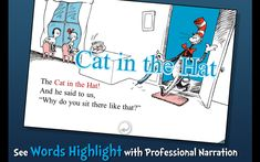 """This is the setting from """"Cat in the Hat."""" It is the house when the cat first enters the house. This setting sets everything up in the book. The cat becoming friends and making the two kids have fun. The setting sets everything up."""