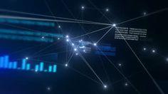 Futuristic Network - HD stock video clip