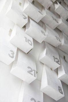 calendar paper bags