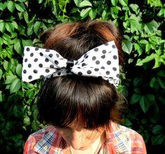Check out this item in my Etsy shop https://www.etsy.com/ru/listing/245374340/adult-headband-women-polka-dot-headband