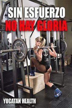 Sin esfuerzo no hay gloria.